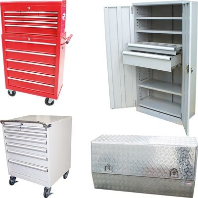 Tool Boxes and Storage Cabinets