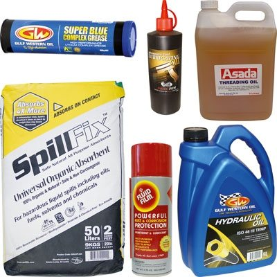 Lubricants and Absorbents