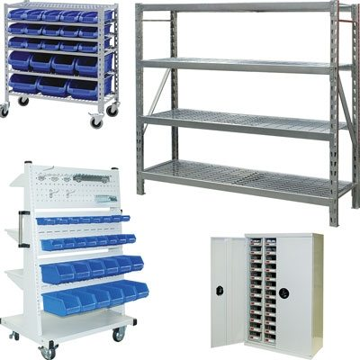 Racking and Parts Bin Systems