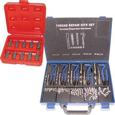 Thread Repair and Screw Extractor Sets