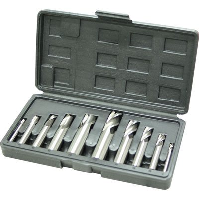 Slot Drill and End Mill Sets - HSS