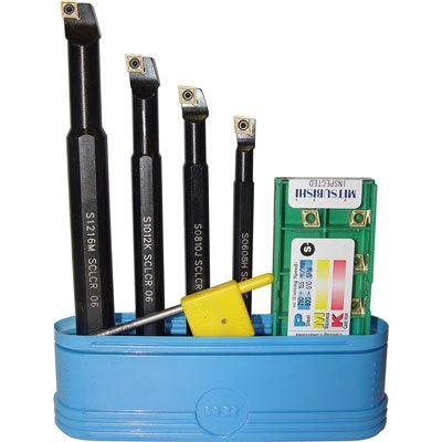 Tool Holder - Carbide Insert and HSS - Boring Kits