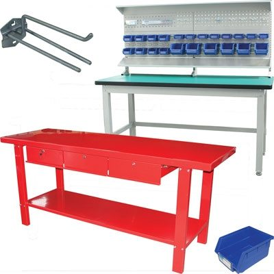Work Benches and Accessories