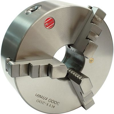 Lathe Chuck - 3 Jaw - Backplate