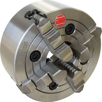Lathe Chuck-4 Jaw - Self Centering-Backplate