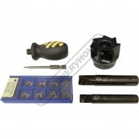 End and Face Mill Cutter Kits - Carbide Insert